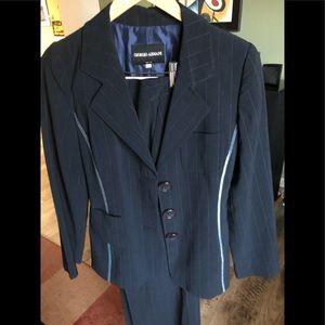 Giorgio Armani Navy Suit